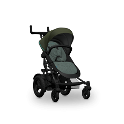 TwoFold Stroller-evergreen