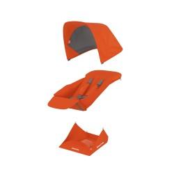 Muuda: Pööratava istumisosa kangakomplekt - oranž