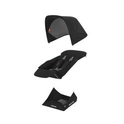 Muuda: Pööratava istumisosa kangakomplekt - must