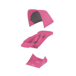 Muuda: Pööratava istumisosa kangakomplekt - roosa