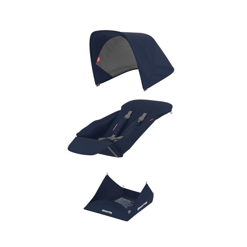 Muuda: Pööratava istumisosa kangakomplekt - sinine