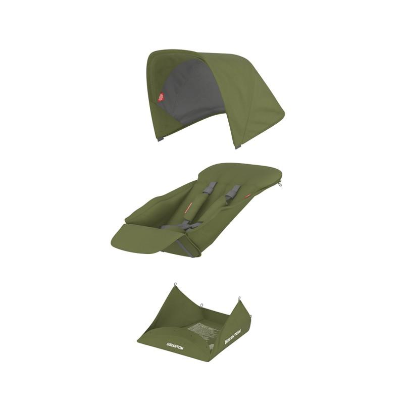 Muuda: Pööratava istumisosa kangakomplekt - oliiv