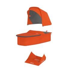 Vankrikorvi kangakomplekt - oranž