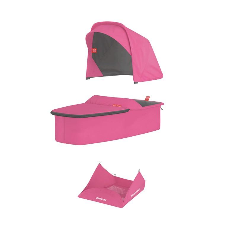 Vankrikorvi kangakomplekt - roosa