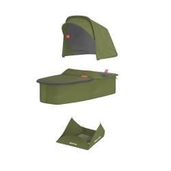 Vankrikorvi kangakomplekt - oliiv
