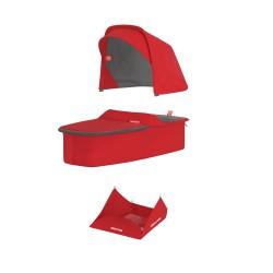 Vankrikorvi kangakomplekt - punane