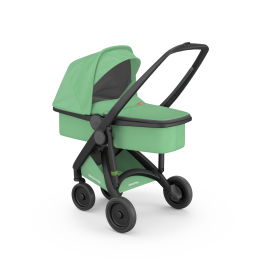 Greentom carrycot - black-mint