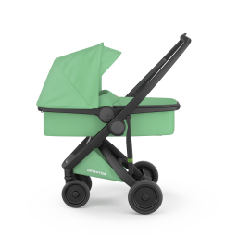 Greentom carrycot - black-mint