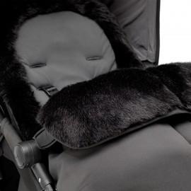 Silver Cross kergkäru luksuslik soojakott-must