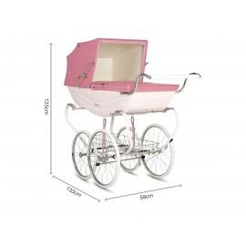 Balmoral jalutusvanker-roosa