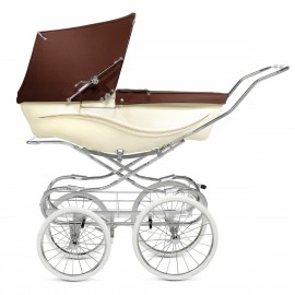 Kensington Pram-cream-and-brown