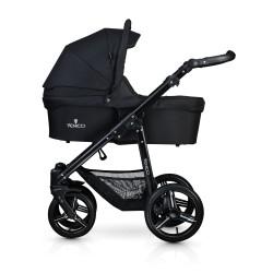 Soft 2-1 Stroller-black-black
