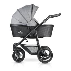 Shadow 2-1 Stroller-denim-grey