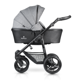 Shadow 2-1 Stroller-denim-grey