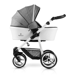Pure 2-1 Stroller-denim-grey