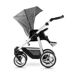 Pure 2-1 Stroller-denim-grey