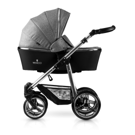 Silver 2-1 Stroller-denim-grey