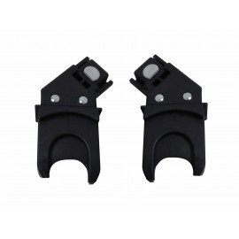 Snap car seat adapters