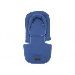 Valco Baby Head Hugger & Seat Pad-blue