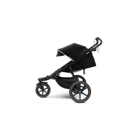 Urban Glide 2 Stroller - Black on Black 2-1 Set