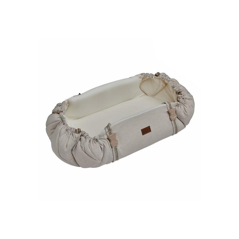 Najell Baby Nest Sleepcarrier-sandy-beige