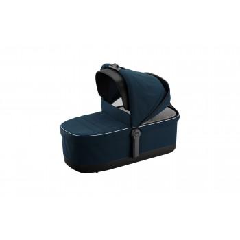 Sleek vankrikorv-mereväe-sinine