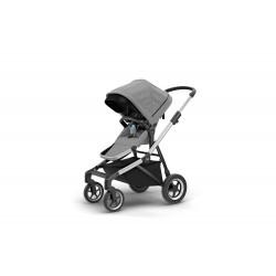 Thule Sleek Stroller-grey-melange