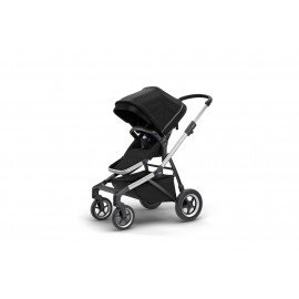 Thule Sleek Stroller-midnight-black