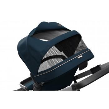 Sleek jalutuskäru-mereväe-sinine