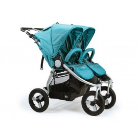 2018 Indie Twin Stroller-tourmaline-wave