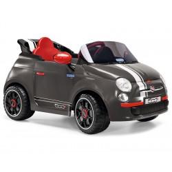 Fiat 500S elektriauto-must