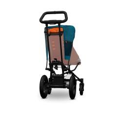 FastFold jalutuskäru-teal-oranž