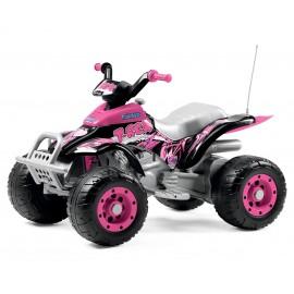 Corral T-Rex elektri quad-roosa
