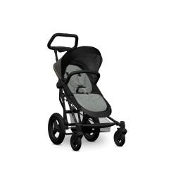 SmartFold Stroller-carbon