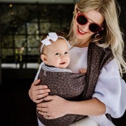 Baby Wrap Mosaic - Mocha Brown