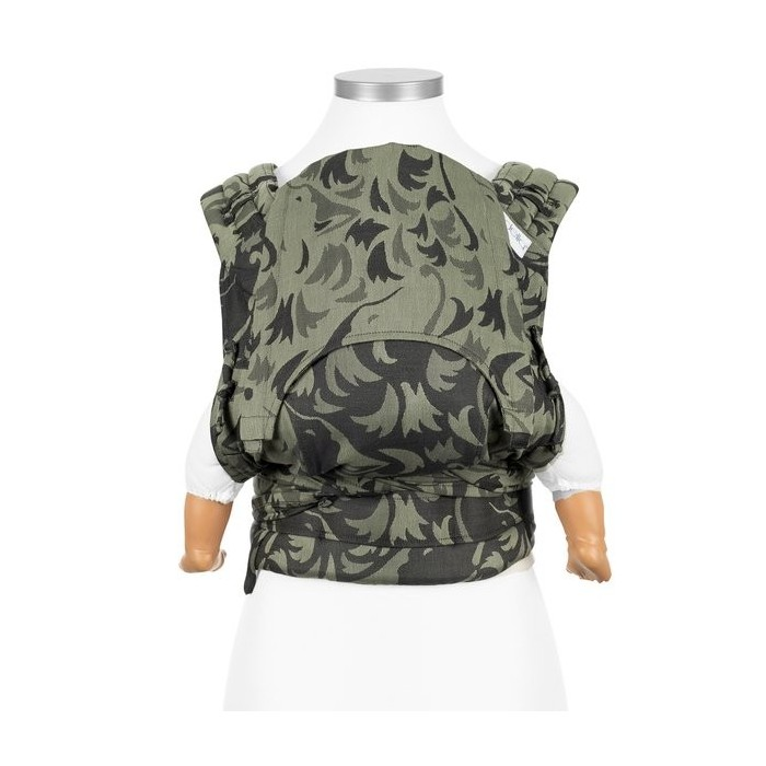 Flyclick Wolf Reed Green Baby Carrier